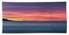 Sunset Penisular, Bunker Bay Hand Towel by Dave Catley