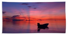 Sunset Rays Hand Towel