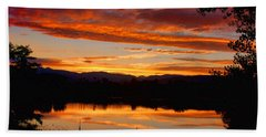 Sunset Reflections Hand Towel