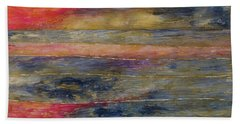 Sunset Reflections Bath Towel by John Stuart Webbstock