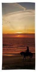 Sunset Ride Hand Towel