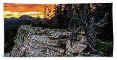 Sunset Ridge - Uinta Mountain Range - Utah Hand Towel