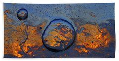 Sunset Rings Hand Towel