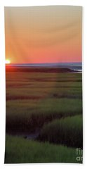 Sunset Romance Bath Towel