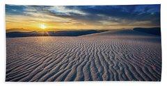 Sunset Sands Hand Towel