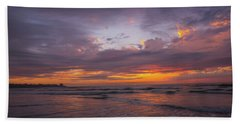 Sunset Scripps Beach Pier La Jolla Ca Img 2 Hand Towel