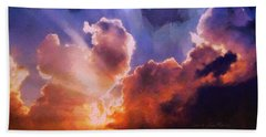 Sunset Sky Hand Towel