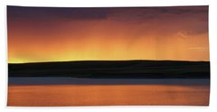 Sunset Storm Bath Towel