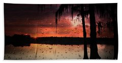 Sunset Storms Bath Towel