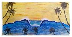 Sunset Surf Dream Bath Towel