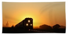Sunset Express Bath Towel