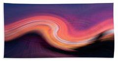 Sunset Twirl Bath Towel