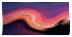 Sunset Twirl Hand Towel