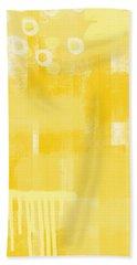 Sunshine- Abstract Art Bath Towel