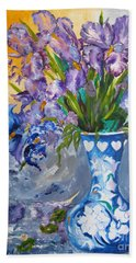 Sunshine And Flowers Hand Towel