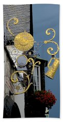 Hand Towel featuring the photograph Sunshine At Night by Corinne Rhode