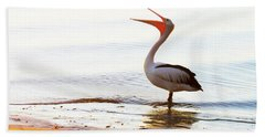 Sunshine Coast Pelican Bath Towel