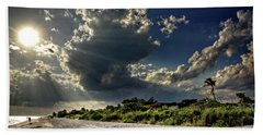 Hand Towel featuring the photograph Sunshine On Sanibel Island by Chrystal Mimbs