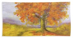 Sunshiney Kind Of Morning Hand Towel by T Fry-Green