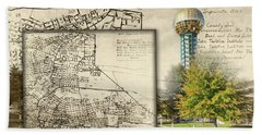 Sunsphere Mapped Hand Towel