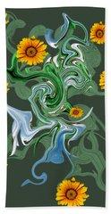 Sunspots Bath Towel by David and Lynn Keller