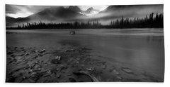 Sunwapta River, Jasper Hand Towel