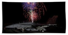 Super Hornet Celebration Bath Towel