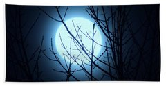 Super Moon 2016 Hand Towel