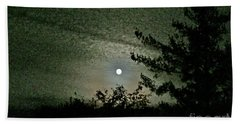 Super Moon Colors Hand Towel