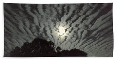 Bath Towel featuring the photograph Super Moon by Irma BACKELANT GALLERIES