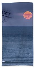 Super Moon Waning Hand Towel
