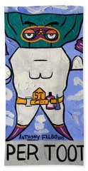 Super Tooth Bath Towel