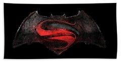 Superman Vs Batman Bath Towel