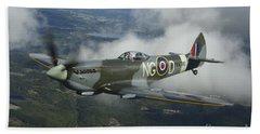 Supermarine Spitfire Mk.xvi Fighter Hand Towel