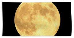 Supermoon Full Moon Hand Towel