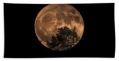Supermoon Rising Bath Towel