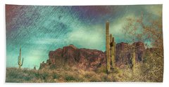 Superstition Mountain Bath Towel
