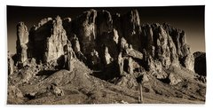 Superstition Mountain  Hand Towel