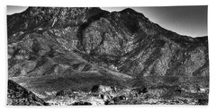 Four Peaks From Lost Dutchman State Park Bath Towel