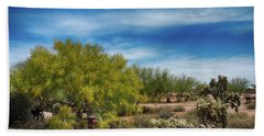 Superstition Mountains Hand Towel