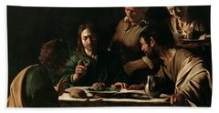 Supper At Emmaus Bath Towel