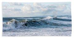 Surf And Sky Hand Towel
