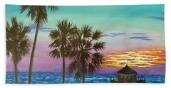 Surf City Sunset Bath Towel