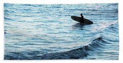 Surf Hand Towel by Elsa Marie Santoro
