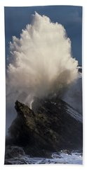 Surf Eruption Hand Towel
