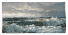 Surf On The Rocks Bath Towel