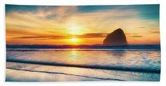 Surf Sunset Hand Towel