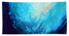 Swimming To The Surface Hand Towel