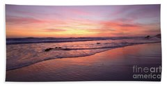 Surfer Afterglow Hand Towel