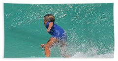 Surfer Boy Hand Towel